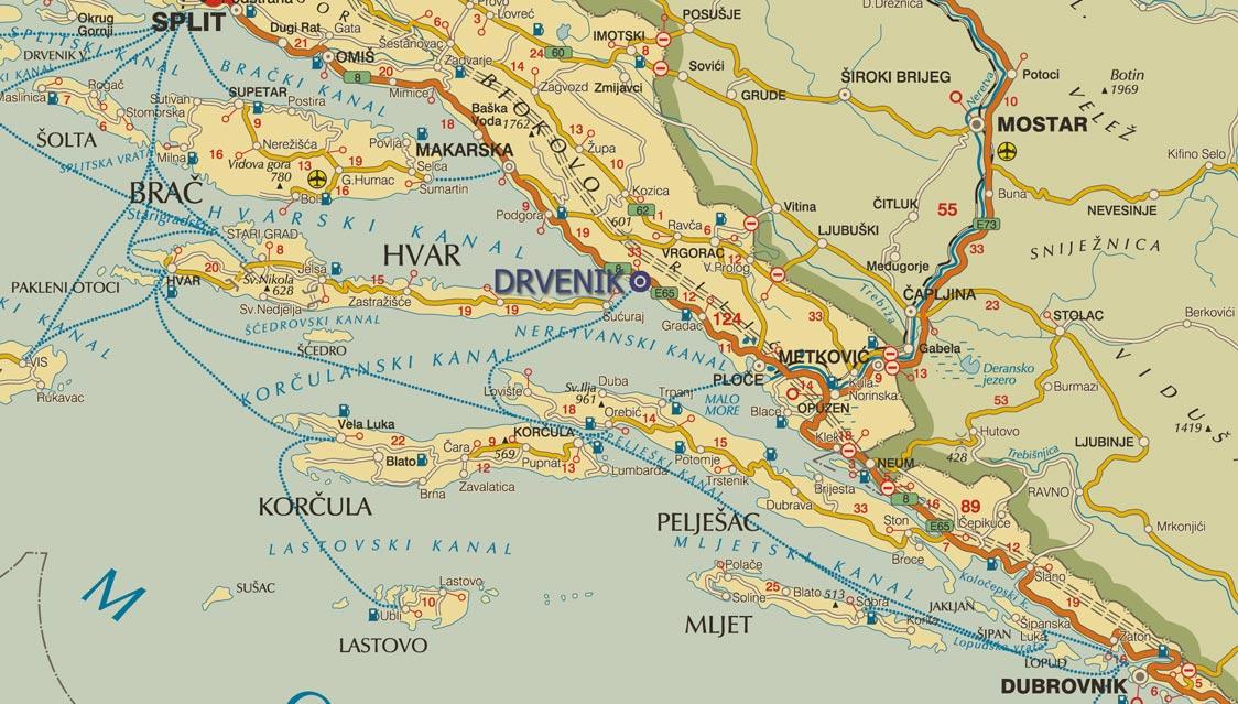 Karta+dalmacije